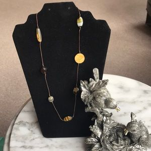 Tiger Eye Multi Earth tone Beaded Necklace